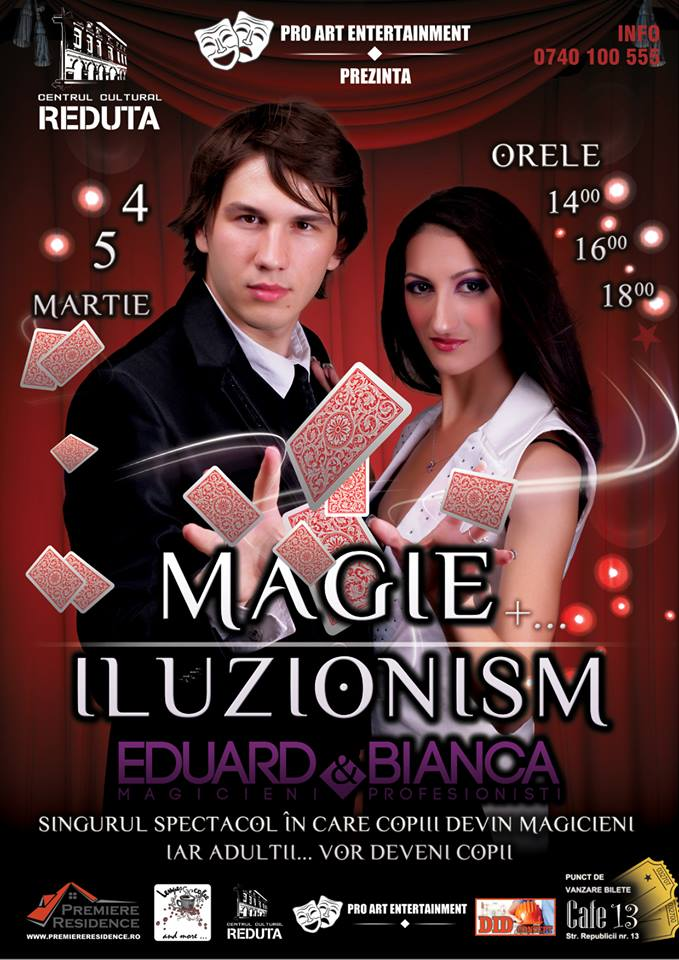 magic show brasov eduard si bianca
